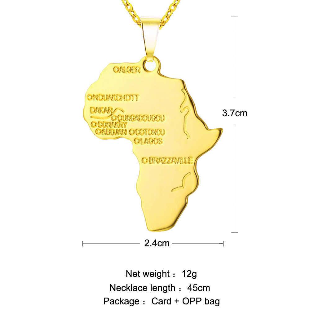 Hurtownie naszyjnik dla kobiet/mężczyzn srebrny/złoty kolor etiopii biżuteria