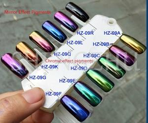 Image 4 - Chinese leverancier spiegel effect kameleon pigment kleur veranderende poeder 5gram voor nagellak, verven