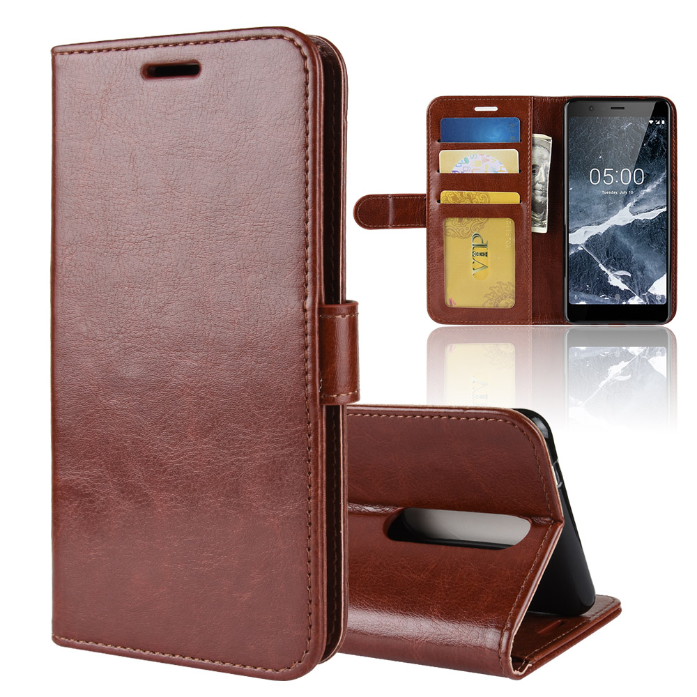 Nokia 5 2018 Case Nokia 5.1 Case Cover PU Leather Cover Phone Case Nokia 5.1 TA-1061 TA-1075 A-1076 TA-1081 TA-1088 Case Flip