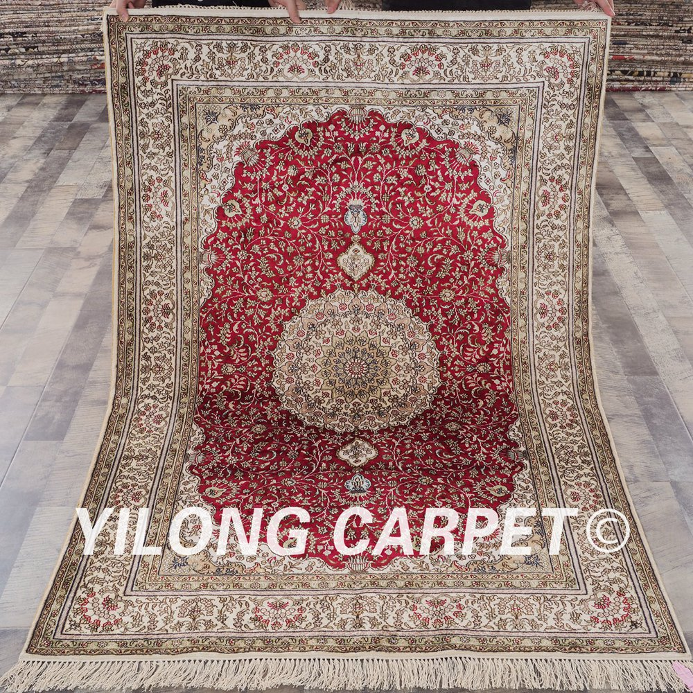Yilong 4x6 turkish carpet traditional red vantage antique handmade persian rugs rsl043a4x6 in rug from home garden on aliexpress com alibaba group