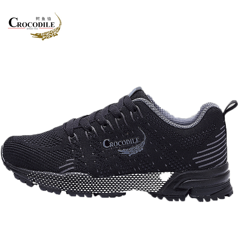 Crocodile New Style Women Running Shoes Outdoor Jogging Training Shoes Sports Sneakers Warm Spring Athletic Shoes Mesh keloch new style men running shoes outdoor jogging training shoes sports sneakers men keep warm winter snow shoes for running