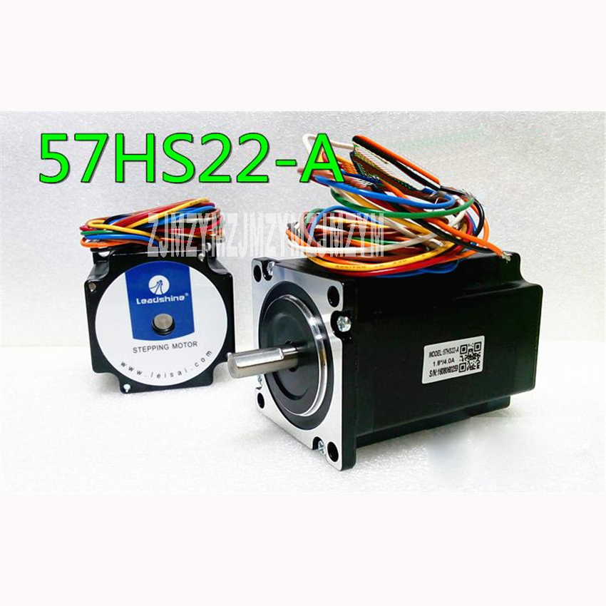 57 series two phase stepper motor 57HS22-A  / 2.2N.M  ,Insulation resistance 100 megohms min, 500VDC Radial runout 0.06Max цена