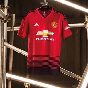 97ec8b617 18 19 Manchester united shirt 18 POGBA ALEXIS MATA LUKAKU MARTIAL LINGARD  MATIC adult Commemorative football soccer jersey 1