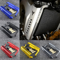 MT 09 MT09 Aluminum Black Radiator Grille Cover Guard Protector For Yamaha MT 09 FZ09 FZ 09 FZ 09 2014 2015 2016 2017