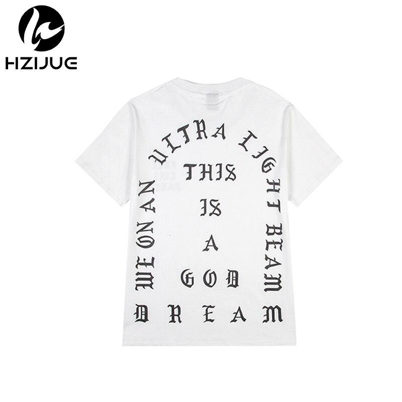 c74cf4f0f0635 2018 Kanye West O I Vida De Pablo Kanye T shirt Homens Roupas de verão Da  Marca T-Shirt Eu Sinto como Paul Kanye Camiseta Homme S-3XL