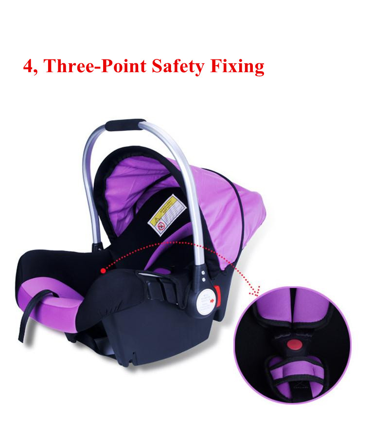 Fyra färger Spädbarn-Stil Säkerhetsbilsäte Barnvagnssäte Bärbar - Barnsäkerhet - Foto 5