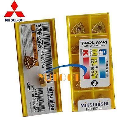 ФОТО 10pcs Mitsubishi Carbide insert WNMG06T312 MA US735 CNC Mill and Turning tool