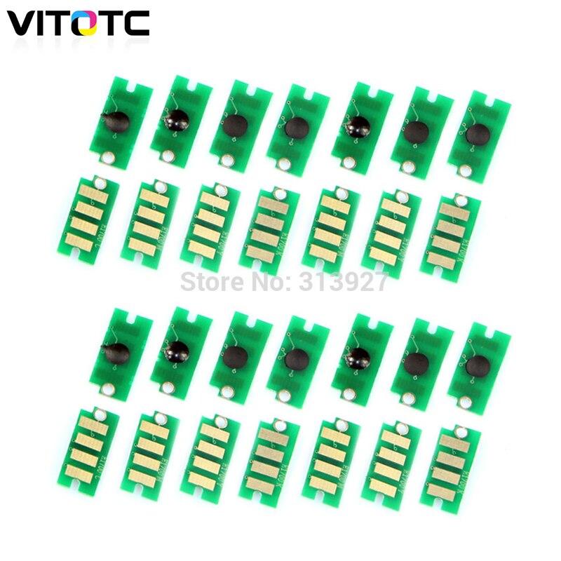 20x Toner Patrone Chip Kompatibel für Epson AcuLaser C1700n C1700dn C1750n C1750w CX17n CX17wf Drucker Toner Pulver Reset Chip