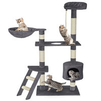 New Style Cat'S Tree Tower Activity Centres Pets Animal Play Tree Fun Scratching Post Climbing Jumping Toy Protect Furniture