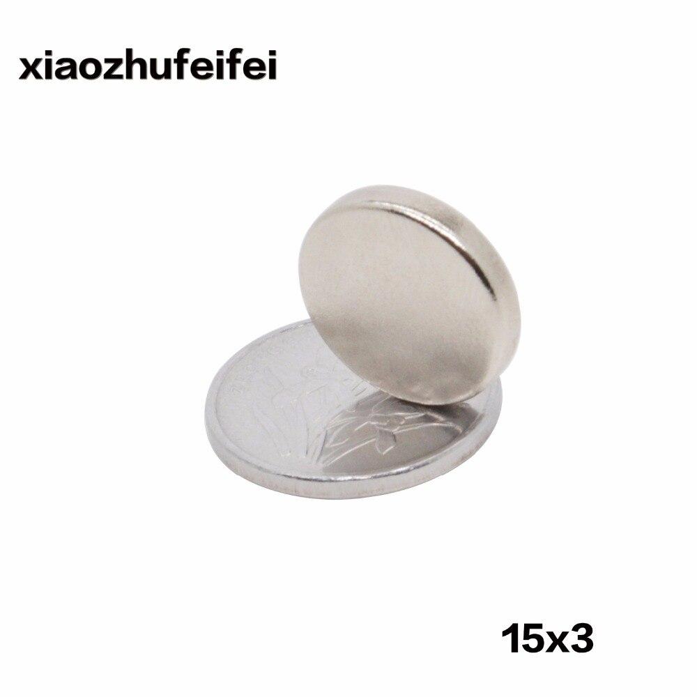 200ピース15ミリメートルx 3ミリメートル15 × 3スーパー希土類ネオジム磁石15*3冷蔵庫クラフト新しいアートクラフト接続  グループ上の 家のリフォーム からの 磁気材料 の中 1