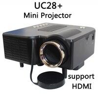 UNIC Multidimension UC28 + hộ gia đình nhỏ LED Hỗ Trợ máy chiếu TRUY