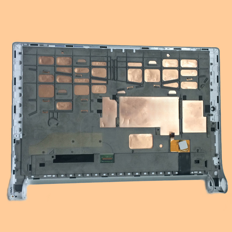 For Lenovo Yoga 2 1050 1050F 1050L 1050LC Touch Screen Digitizer Glass + LCD Display Panel Assembly Silever Frame 10 1 lcd touch tablet screen digitizer glass display assembly replacement pocketbook for lenovo yoga tablet 2 1050 1050l 1050f