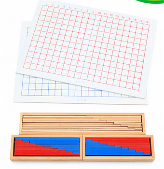 New wooden Baby Toy Montessori Mathematics teaching aids subtraction board Early Educational Toy Baby Gifts