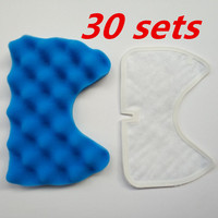 30 sets vacuum cleaner filter for replacement Samsung vacuum cleaner filter VCA VM HEPA Cup SC65 /66/67/68 series
