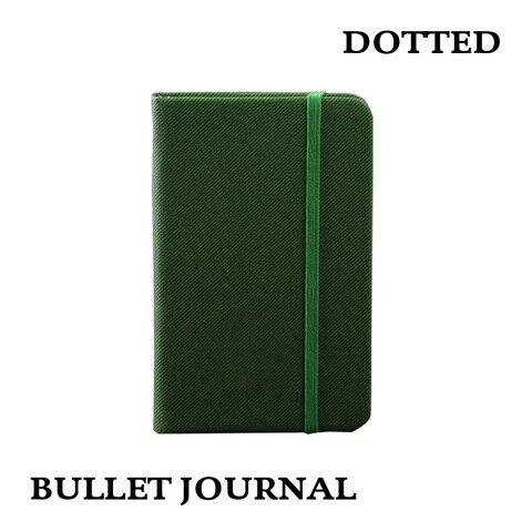 a6 pontilhada capa dura notebook bala criativo livro mao elastico bolso envelope revista