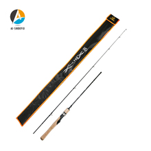 Spinning Rod 1.37m Solid Tip 2-10g Test UL for Light Jigging Trout Fast Action Carbon Casting SuperLight