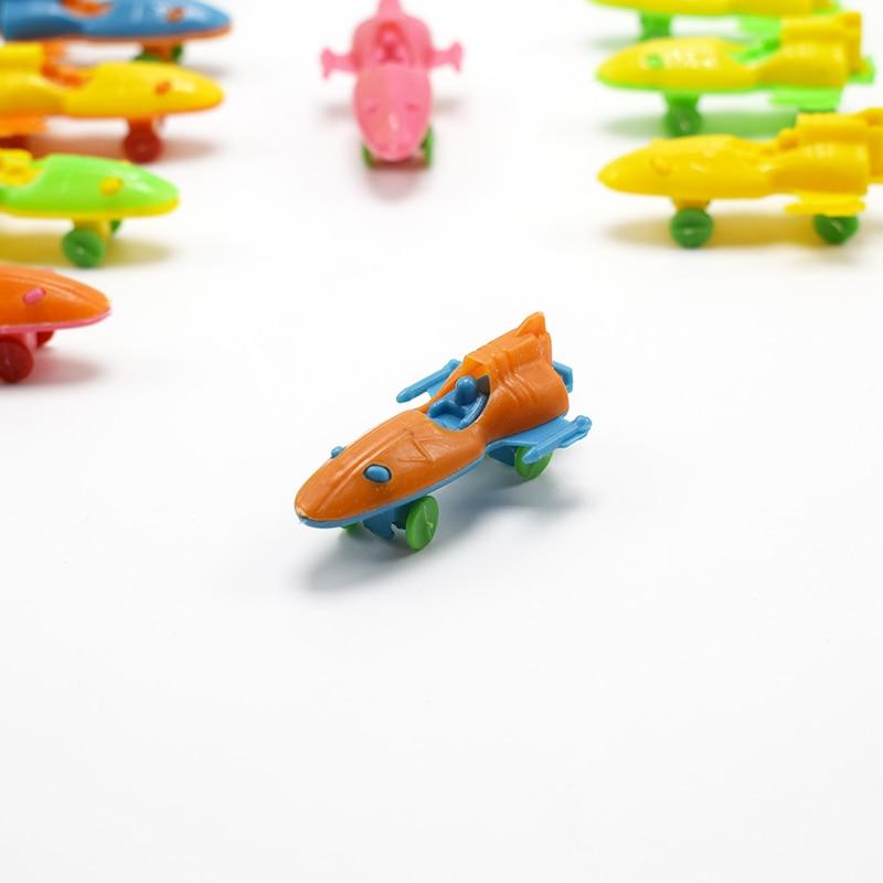 Trustful 50pcs/lot Super Mini Plastic Spaceship Spacecraft Model For Kids Gift Superior Performance Toys & Hobbies