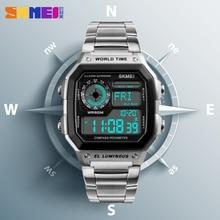 Countdown Compass Sport Watch SKMEI Mens Watches Top Brand L