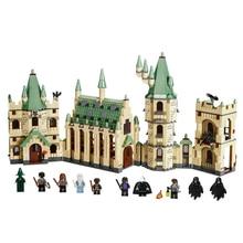 16030 Blocos De Construção Do Castelo Legoing Filmes de Harry Potter Figura de Ação Blocos Do Bebê Brinquedos para As Crianças Compatíveis com Legoe 4842