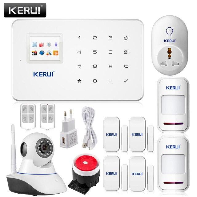 Kerui G18 Drahtlose Gsm Sms Smart Home Security Alarm System Ios