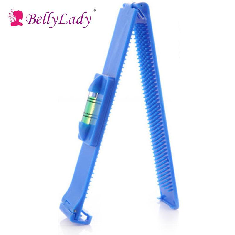 BellyLady Women Girl Hair Trimmer Fringe Cut Tool Beauty Clipper Fringe Hair Cutting Level Bangs Clipper Tool Guide for Layers