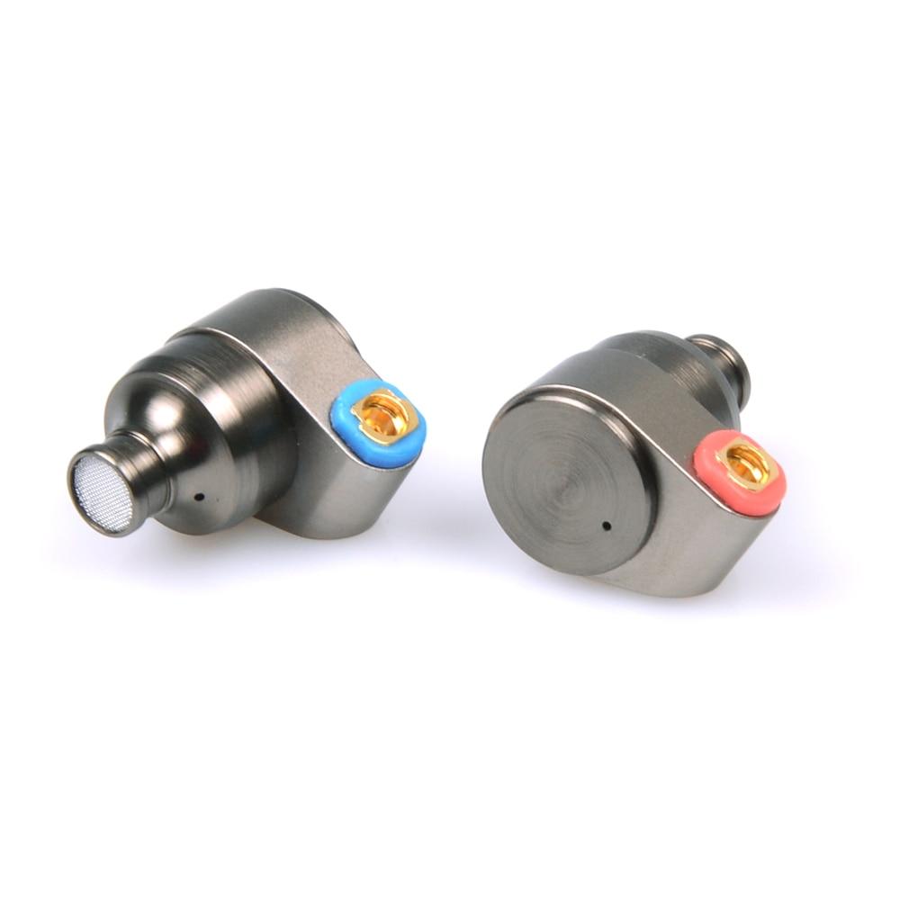 Estaño de Audio T2 3,5mm en el auricular del oído doble dinámicos conducir auriculares HIFI bajo DJ auriculares de Metal MMCX desmontable auriculares T515/T1 - 3