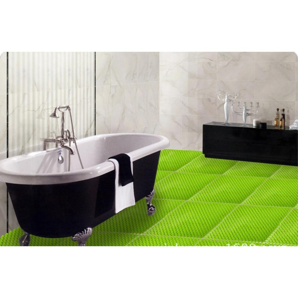 New PVC Bath Mat Eco Friendly Bathroom Anti Slip Plastic Pad Mat for ...