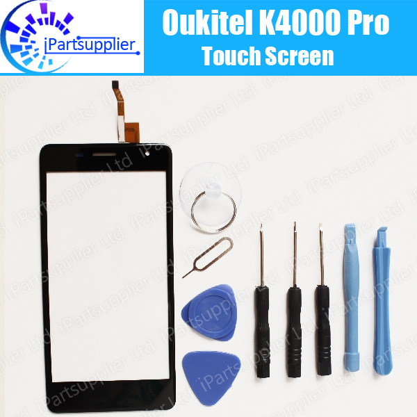 100% Original for Oukitel K4000 Pro mobile phone touch screen Digitizer glass panel Assembly Replacement+ Tools