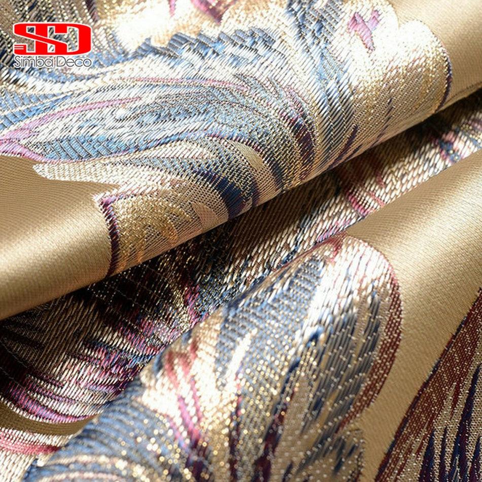 Роскошные шторы для гостиной, занавески на спальню, шелковые элегантные шторы с вышивкой на заказ, затеняющие окна тканевые панели