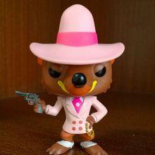 Funko pop Secondhand, который обрамил Кролик Роджер-умный Weasel Виниловая фигурка Коллекционная модель свободная игрушка без коробки