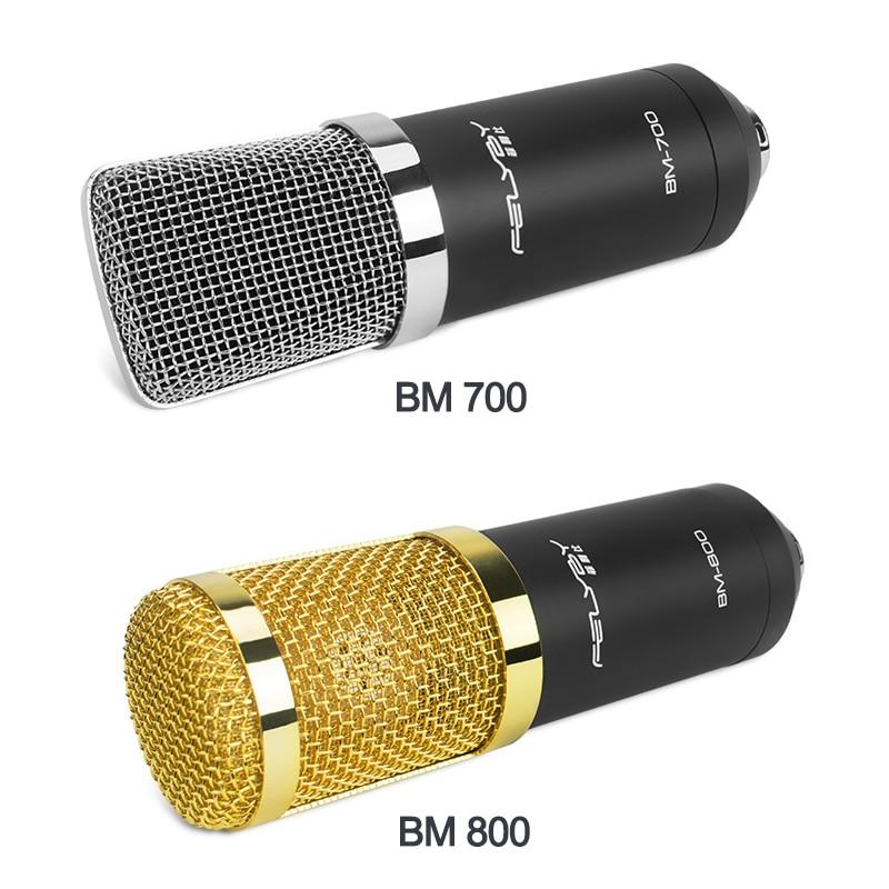 FELYBY BM800 700 Visoka kvaliteta Profesionalni kondenzatorski - Prijenosni audio i video - Foto 6