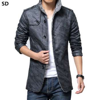 Fashion Brand mens leather jackets and c...