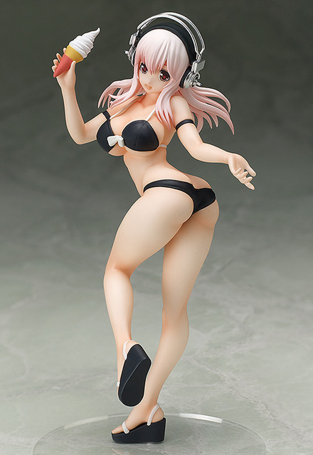 15cm Japanese Sexy Anime Version Figurine Cute PVC Action Figure Model Toy Best Gifts Super Sonico Swimsuit Girl