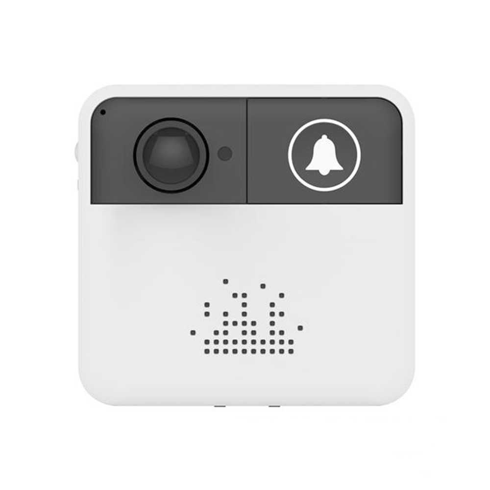 Wireless Wifi Intelligent Video Intercom Doorbell Smart Home Low Power Consumption Mobile Remote Monitoring White Portable