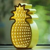 Christmas tree mirror pineapple tunnel 3d lamp Luminaria De Mesa Novelty Led Night Light Led 3d Kids Room Light