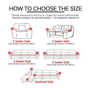 Image 3 - Sofa Case Sofa Cover For Living Room Slipcovers Elastic Stretch Universal Sectional Cases for Furniture Couch Cover 1/2/3/4 Seat