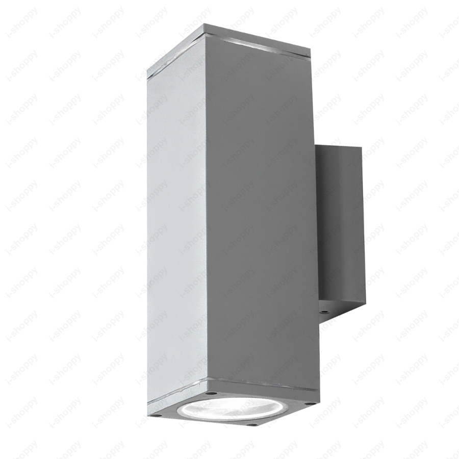 Dimmablen 10w14w24w led outdoor wall sconce light fixture updown dimmablen 10w14w24w led outdoor wall sconce light fixture updown lamp e27 bulb waterproof gray shell balcony garage in led outdoor wall lamps from arubaitofo Image collections