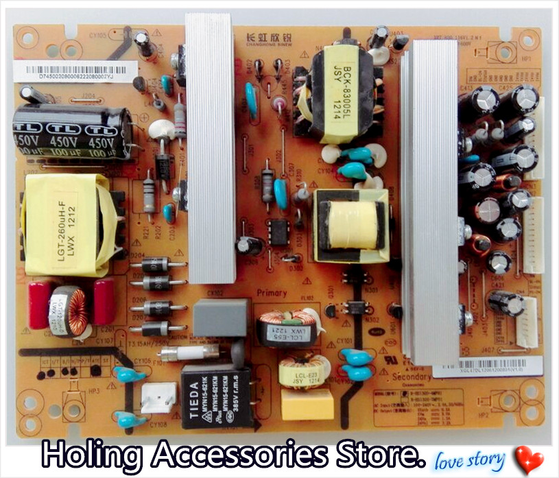 US $34 0 15% OFF|Changhong LCD TV 3D60C4300i Power Board XR7 820 116V1 2 R  HS130S 4MF01 Good test work-in Lighting Transformers from Lights & Lighting