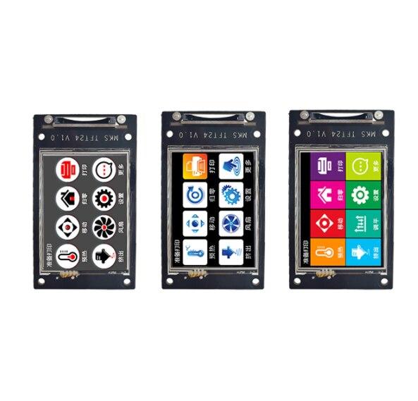3D impresora LCD pantalla de bienvenida MKS TFT24 pantalla táctil controlador inteligente display de apoyo WiFi App Cloud impresión multi-idioma