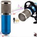 BM-800 Condenser Microphone Studio Sound Vocal Recording Microphone Broadcast And Studio Radio Microphones + Shock Mount Holder