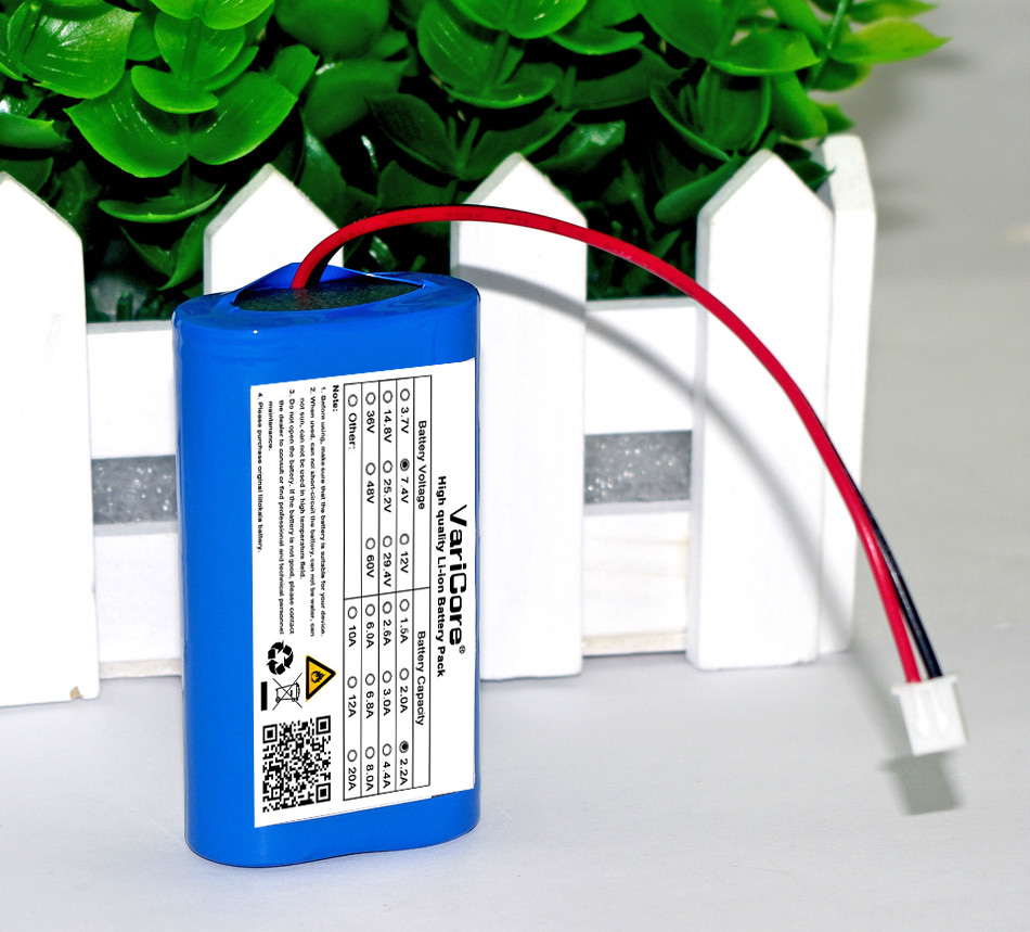 7.2 V / 7.4 V / 8.4 V 18650 2200 mAh Lithium Battery Rechargeable Battery Amplifiers