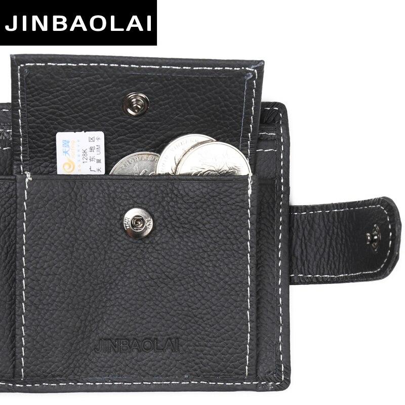 carteiras de couro genuíno com Estilo : Causul, Fashion, For Men Coin Purse Wallets