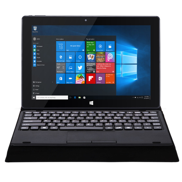 """10.1"""" 1280*800 Cenovo W10 Tablet PC Notebook Dual OS Z8350 Quad Core 2G RAM 32G ROM 5.0MP HDMI Bluetooth 2 in 1 Laptop Computer"""