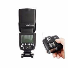 Godox V860II C E-TTL HSS 2.4G Wireless Flash Speedlite For Canon DSLR + X1T-C wireless Trigger for