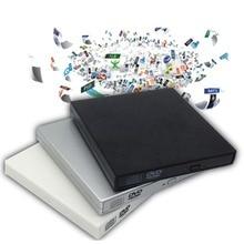 USB 2.0 External DVD Combo CD-RW Burner Drive CD DVD ROM For PC Computer Laptop Mobile External Drive Drop Shipping Ultra-thin