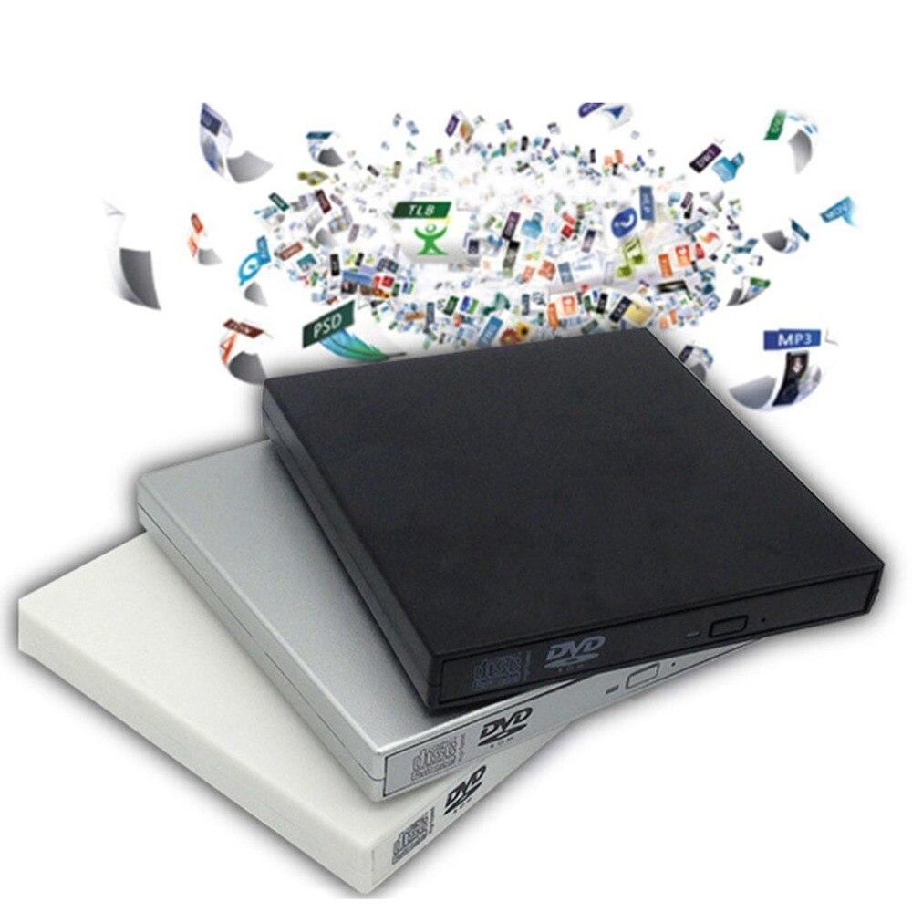 USB 2.0 Externe DVD Combo CD-RW Brenner Laufwerk CD DVD ROM Für PC Computer Laptop Mobile Externe Drive Tropfen Verschiffen Ultra -dünne