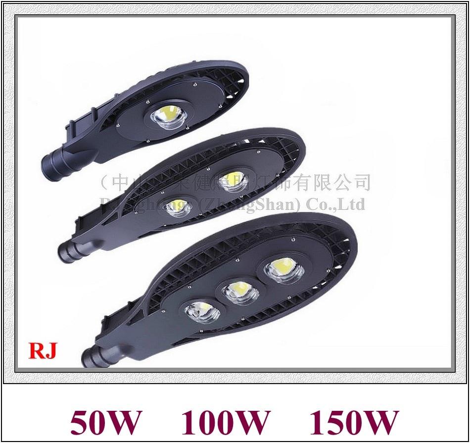 Здесь продается  Epistar led chip COB LED street light lamp LED road light IP65 50W / 100W / 150W AC85V-265V aluminum grid style II RJ-LS-F  Свет и освещение