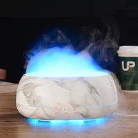 500ML Ultrasonic Remote Control Air Humidifier Aroma Diffuser 7 Color Changing LED Light Smart Essential Oil