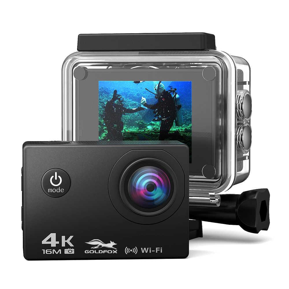Cámara de acción deportiva Ultra HD 4K 1080P Wifi 16MP Go Diving Pro cam impermeable deportes al aire libre DV casco DVR cámara de Control remoto