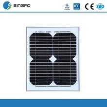 Cheap China 12V Solar Panel 10W Monocrystalline PV Module Mini Kits Portable Small For Phone PVM10